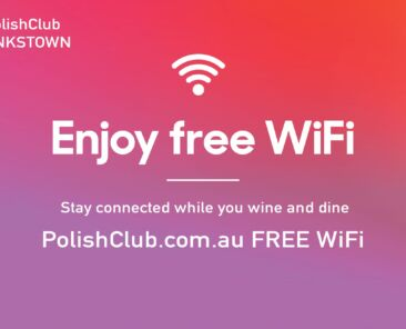 Enjoy complimentary FREE WiFi while you wine, dine and enjoy our club.