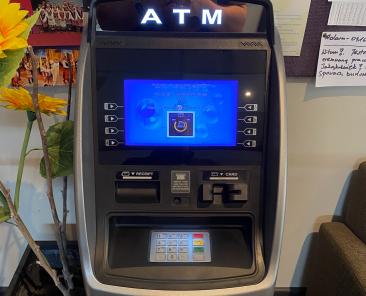 New ATM Machine at The Polish Club