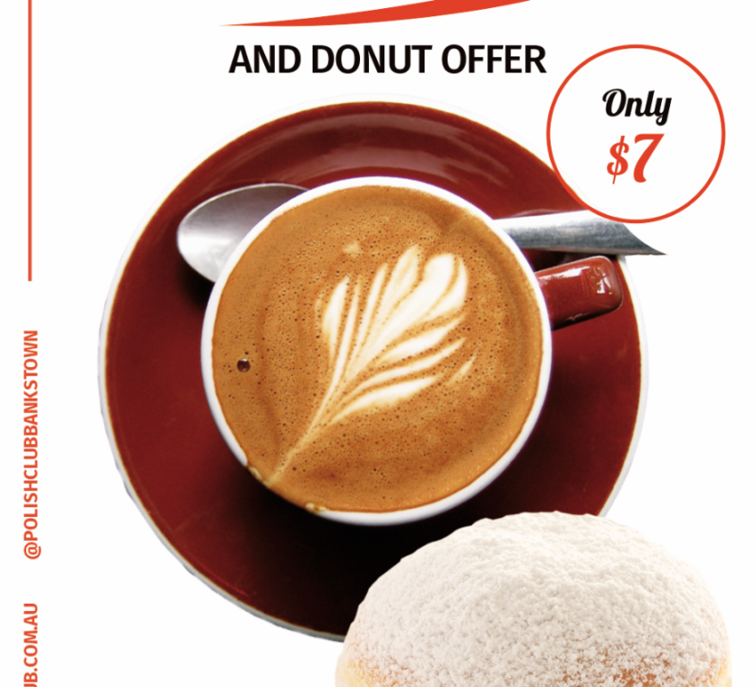 Coffee and Donut for $7